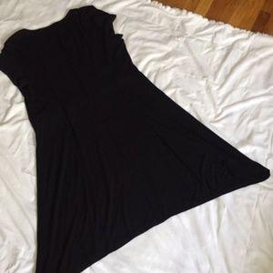Black short sleeve dress Size 12